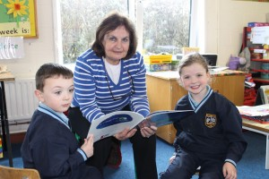 Grandparents reading Day Junior Infants 007