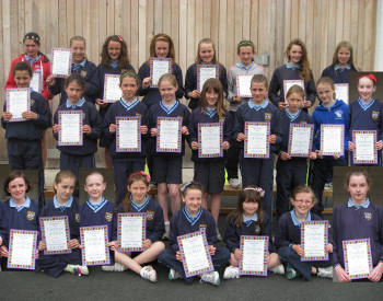 MilfordNS_Girls_Athletics_Team_2012