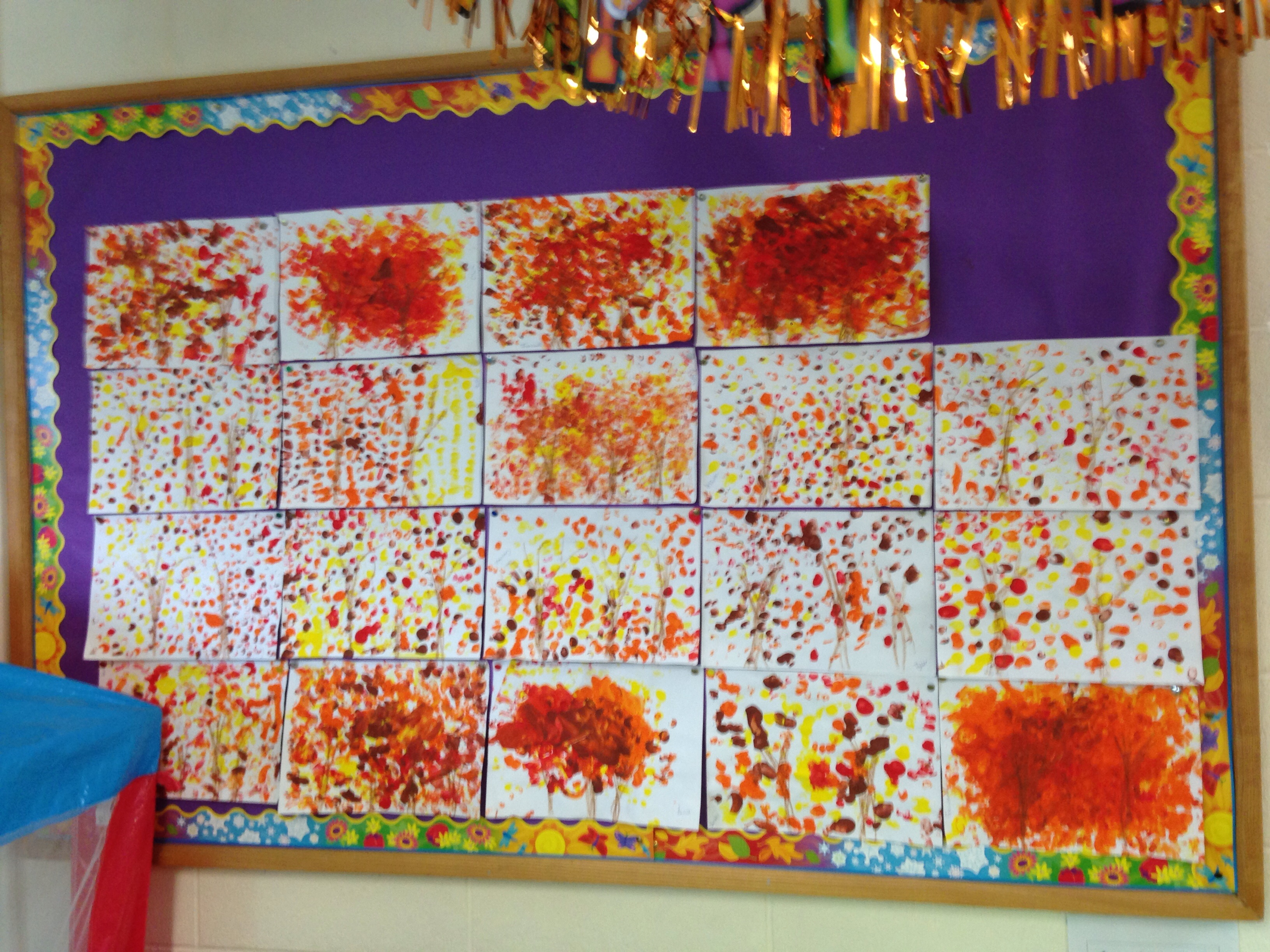 Milford National School Some Autumn Art By Junior Infants